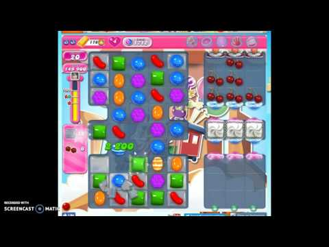 Candy Crush Level 1712 help w/audio tips, hints, tricks