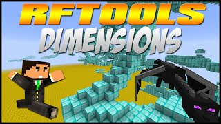 RFTools Minecraft Mod Tutorial - Making Dimensions