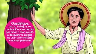 Блаженная Гваделупе Ортис де Ландасури в мультфильмах