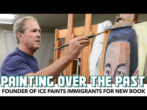 Founder Of ICE Paints Immigrants For New Book