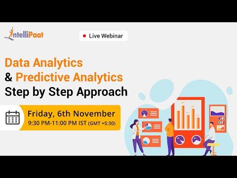 Data Analytics: Step by Step Approach | Predictive Analytics