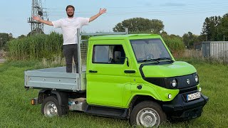 This Is The Unimog Inspired Electric Mini Truck Of My Dreams - And I Drive It!