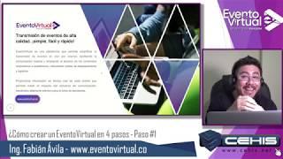 ¿Cómo abrir una cuenta gratis en EventoVirtual.co?
