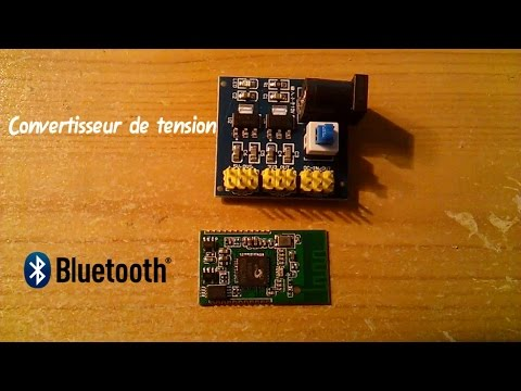 CREER UN AMPLI BLUETOOTH POUR MOINS DE 5€ ///  Fabrication d'un siège de Gaming Bluetooth
