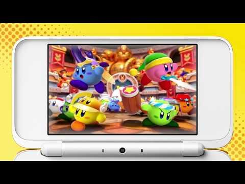 Видео № 0 из игры Kirby Battle Royale (Б/У) [3DS]
