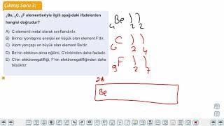 Eğitim Vadisi TYT Kimya 3.Föy Periyodik Sistem 2 Konu Anlatım Videoları