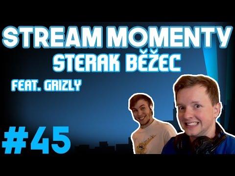 Stream Momenty #45 - Sterak Běžec Feat. Gryzly