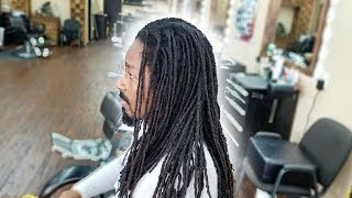 EPIC TRANSFORMATION | FIRST HAIRCUT IN 11 YEARS | CUTTING HIS DREADLOCKS OFF