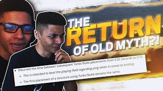 IS OLD MYTH BACK? TURBO BUILDING *NERF* REACTION!