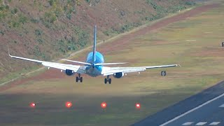 HEAVY LANDINGS and TAKE OFFS in Madeira