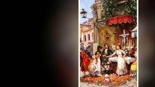 Яркие краски Испании!.. Художник Antonio Medina