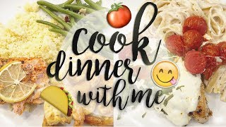 What's for Dinner? Collabing with LeeAnne from GradysMom! // Family Dinner Ideas