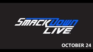 WWE SmackDown - Milwaukee, WI - October 24th, 2017