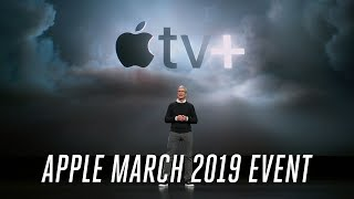 Apple TV Plus March 2019 event in 7 minutes thumbnail
