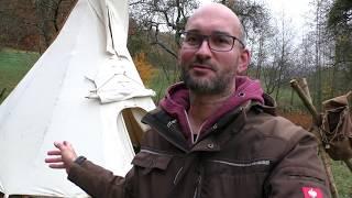 Tipi Zelt 4m Durchmesser von Zelte-Max