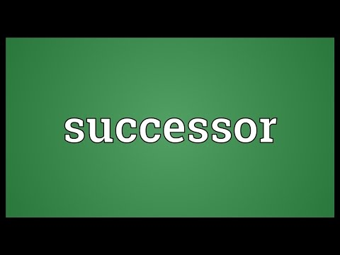 Download Successor Meaning Mp4 HD Video and MP3
