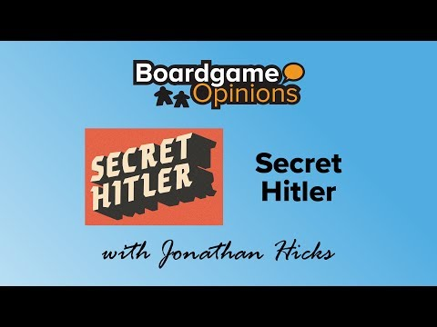 Boardgame Opinions: Secret Hitler
