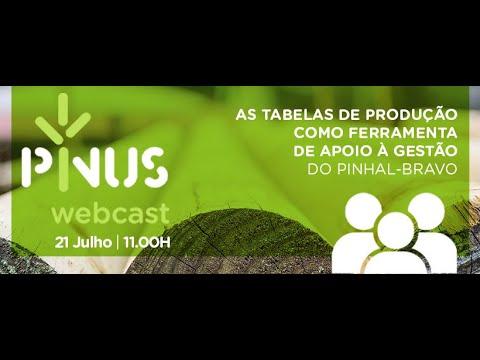 PINUS Webcast - As tabelas de produção como ferramenta de apoio à gestão do pinhal-bravo