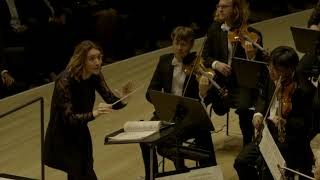 Alondra de la Parra conducts PROKOFIEV Classical Symphony IV movement