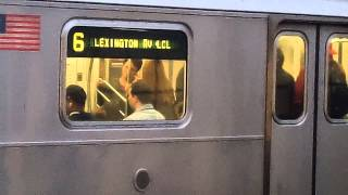preview picture of video 'Pelham Bay Park-bound R142A 6 Train@Whitlock Avenue'
