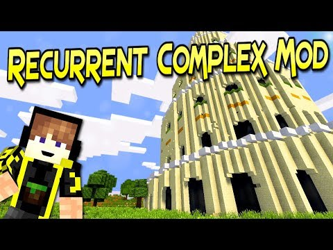 Recurrent Complex Mod   Mas De 150 Estructuras   Minecraft 1.12.2 – 1.7.10   Mod Review En Español