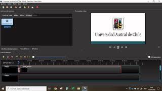 Editar video con OpenShot