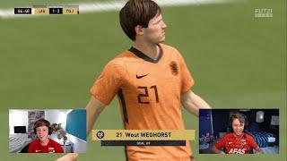 Het spitsenduo van Oranje | Jens van der Flier & Dani Visser | AZ eSports