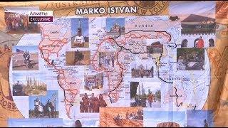 Вокруг света за 9 лет: путешественник из Австрии приехал в Казахстан на мотоцикле (21.06.18)
