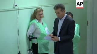 Former Georgian PM Ivanishvili votes