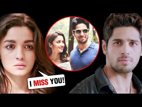 Sidharth Malhotra And Alia Bhatt | Love Story To B