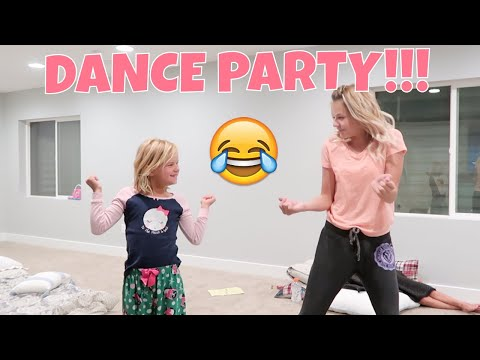 UP ALL NIGHT   SIBLING DANCE PARTY