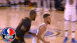 Byron Scott's favorite Steph Curry moment so far was one play vs LeBron James | NBA Countdown | ESPN