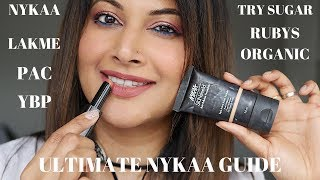 TOP 10 INDIAN MAKEUP PRODUCTS & BRANDS FROM NYKAA| BEST NYKAA BEAUTY PRODUCTS 2019