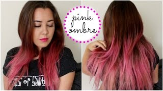 Pink Ombre/Dip Dye | How I Dyed My Hair