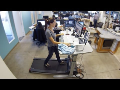 We Tried A Treadmill Desk Because Sitting At Work Is Killing Us