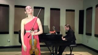 Ariel Horowitz: Bruch Violin Concerto (mvts. 1 and 2)