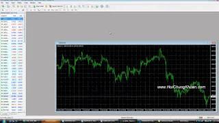 Hướng Dẫn Sử Dụng MetaTrader 4 MT4 Phần 1