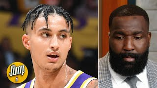Kyle Kuzma needs to change the way he's playing on offense - Kendrick Perkins | The Jump