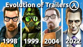Evolution of Half-Life Trailers 1998 - 2020