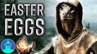 Skyrim Easter Eggs, Secrets & References YOU Missed - Easter Eggs #10   The Leaderboard