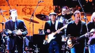 Something (LIVE) - Paul McCartney with Eric Clapton, Jeff Lynne and Ringo Starr
