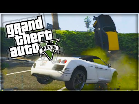 'MAD BUMPER CARS!' GTA 5 Funny Moments With The Sidemen (GTA 5 Online Funny Moments)