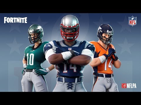Los enfrentamientos de la NFL llegan al Battle Royale de Fortnite