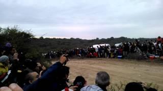 preview picture of video 'WRC ARGENTINA 2014 salto de LAS BAJADAS(Hirvonen)'