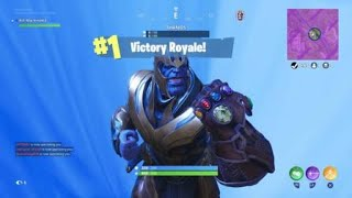 Fortnite friends with Thanos