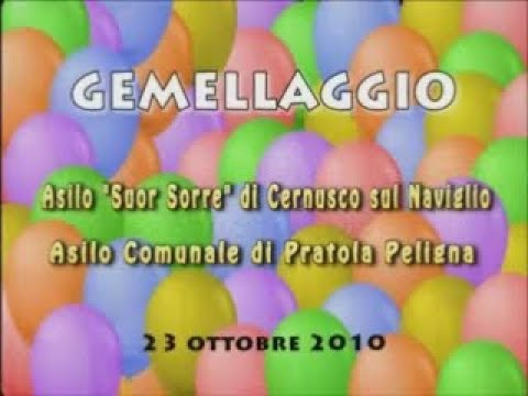 Gemellaggio Asilo Pratola-Asilo Cernusco Ottobre 2010