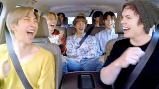 BTS Singing On Carpool Karaoke