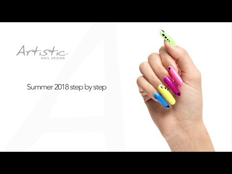 Crave The Rave- Artistic Summer 2018 (Step By Step)