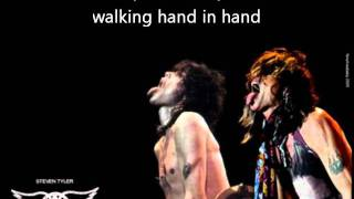 Aerosmith Remember (Walking In The Sand) (with lyrics)
