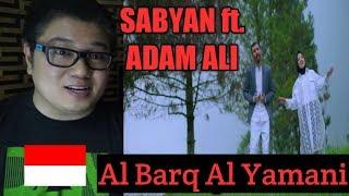 (Filipino Reaction) SABYAN Ft ADAM ALI    AL BARQ AL YAMANI L Indonesia